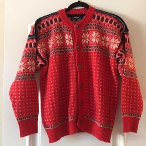 Vintage Wool Sweater Holiday